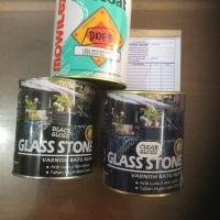 Vernis batu alam / beton / cat tembok / vernish genteng glasstone