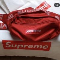 SUPREME Waistbag SS18 Red