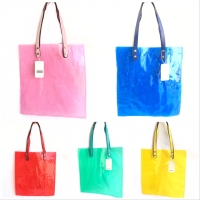 Tas totebag mika transparan fashion korea import - Biru