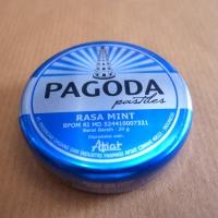 Permen pagoda rasa mint 20 gram