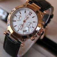 Jam tangan wanita guest chrome