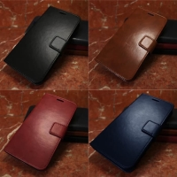 Flip wallet leather kulit dompet case xiaomi mi note bambu