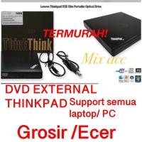 Lenovo Thinkpad USB Slim Optical Drive - DVD-RW external