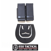 Blackhawk Tactical CQC Magazine Pouch Double Holster 9mm IPSC Shooting