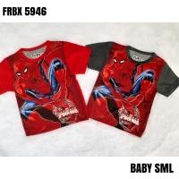 Kaos Spiderman merk FURO khusus Anak umur 1-3 tahun