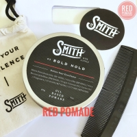 POMADE SMITH BOLD HOLD HEAVY OIL BASED / OILBASED + FREE SISIR & POUCH