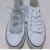 Tali Sepatu Pita Glitter 120cm