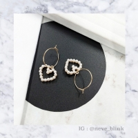 Kelly Heart Earrings | anting love anting korea impor aksesoris wanita