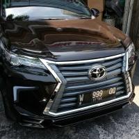 BODYKIT FORTUNER VRZ 2018 LEXUS STYLE (Plastik PP Thailand)