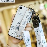 SoftCase samsung A10 A20 A30 A50 M10 M20 case samsung lucu dengan tali