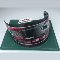 Flat Visor NHK GP1000 Dark Smoke
