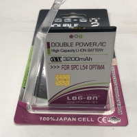 Baterai Battery Log On Double Power SPC L54 OPTIMA
