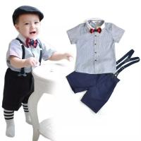 Setelan Anak Suspender Import(S7G)