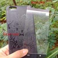 Silikon soft jelly case 360 cocose bonus tempered glass vivo y69 y 69