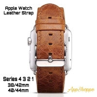 Apple Watch Strap KULIT ASLI Series 1 2 3 4 COWHIDE 42/44mm