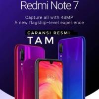 Redmi Note 7 Garansi Tam 18 Bulan 4/64Gb