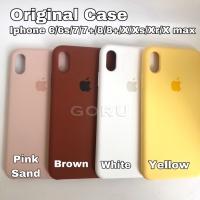 Silicone case iphone 6 6s plus 7 8 + soft hard casing premium original