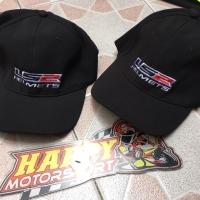 Topi cap original by LS2 France official merchandise warna hitam L/XL