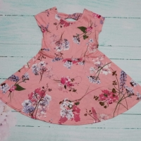 Dress Anak TCP Floral Pink 4year