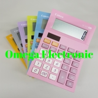 Canon AS-120V Calculator Desktop Kalkulator Stylish Warna Colorful AS