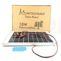 Solar Cell / Panel Surya / Poly Solar Panel 10WP (Watt peak) Mitsuyama