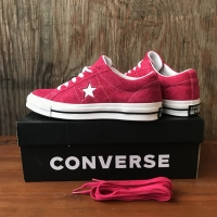 Converse One Star Pink Pop Suede BNIB ORIGINAL