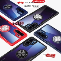 New i-case Huawei P30 Pro Hybrid Ring Stand Clear