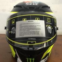 AGV GP CORSA Rossi Wish helmet