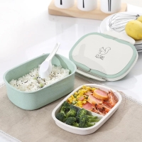 Microwavable! Lunch Box / Kotak Makan Anak Tingkat 2 / BPA FREE