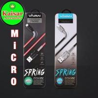 Kabel Data Vivan FM100 USB Micro Fast Charging For Android Original