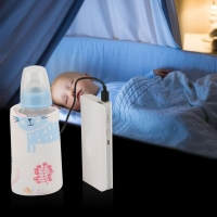 USB Milk Warmer/Portable Penghangat Susu Bayi Travelling