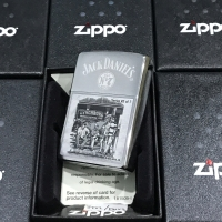 ZIPPO LIGHTER / MANCIS KOREK API ZIPPO ORIGINAL - JACK DANIELS 28737
