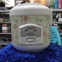 Rice Cooker mini penanak pengukus penghangat nasi sup bubur merk CMos