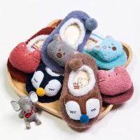 Kaos Kaki Bulu Anak Bayi Korea Baby Fleece 3D Anti Slip Socks