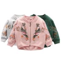 Sweater flower anak / jaket anak perempuan impor