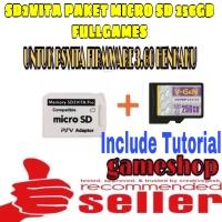 MEMORY CARD PSVITA / SD2VITA PAKET MICRO SD 256GB FULL GAMES PS VITA