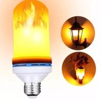 Lampu Led Api 9W Obor Led Bohlam Lampu Led Api Lampu Taman E27 3 in