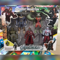 Mainan Action Figure Avengers Guardians Of the Galaxy vs Thanos