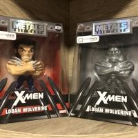 Metal Die Cast X-Men Logan Wolverine Loot Crate Original & Silver