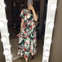 STELLA TROPICAL DRESS | FASHION WANITA | LONG DRESS | BOHEMIAN | BOHO