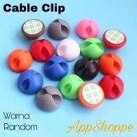Cable Clip Klip Kabel Organizer Cable Clip 6pcs set