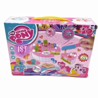 Mainan Kue Potong DIY Birthday Fruit Cake Little Pony Besar