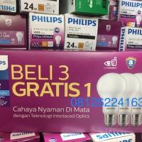 Lampu LED Bulb Bohlam Philips 12w Paket Mycare Pack 12w Multipack