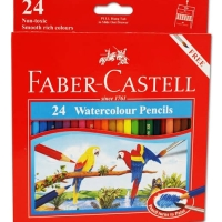 Pensil Warna Cat Air Faber Castell Isi 24