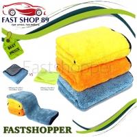 KAIN LAP MICROFIBER HANDUK TOWEL PREMIUM TEBAL 800GSM 45x38Cm MR698