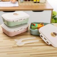 Microwavable! Lunch Box Kotak Makan Bekal Anak BPA FREE Sendok Garpu