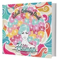 Art Theraphy untuk Dewasa Buku Mewarnai: Colour of Human