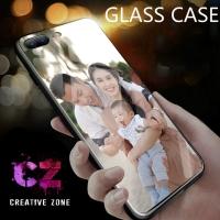 CUSTOM MURAH CETAK CASING HP GLASS CASE SEMUA HP IPHONE/OPPO/XIAOMI DL