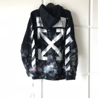 Hoodie off white galaxy