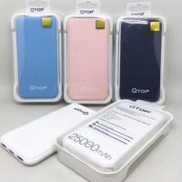 Powerbank / Portable Original Qtop Slim 25000MAH